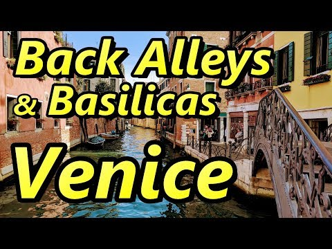 Venice Italy Back Alleys and Basilicas | GoPro Hero 6 Black and Canon PowerShot G7 X Mark II