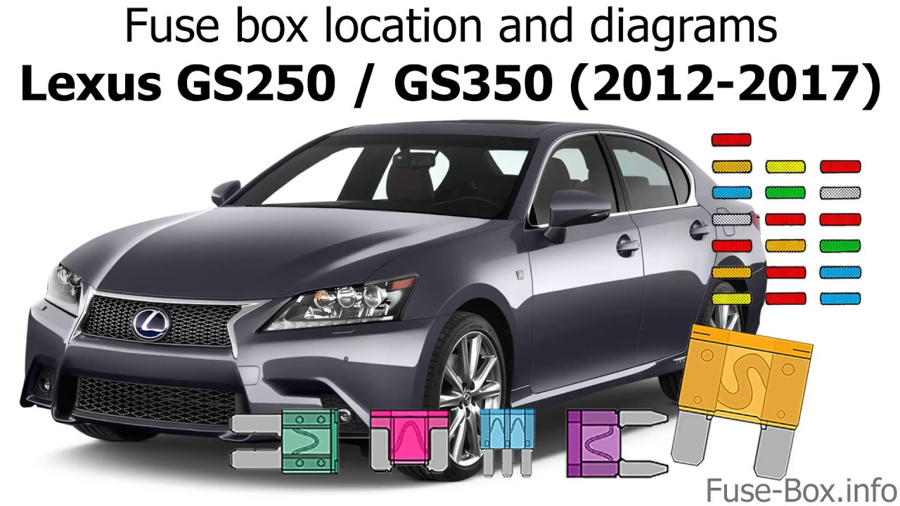 fuse box location and diagrams lexus gs250 gs350 2012 2017fuse box location and diagrams lexus [ 1280 x 720 Pixel ]