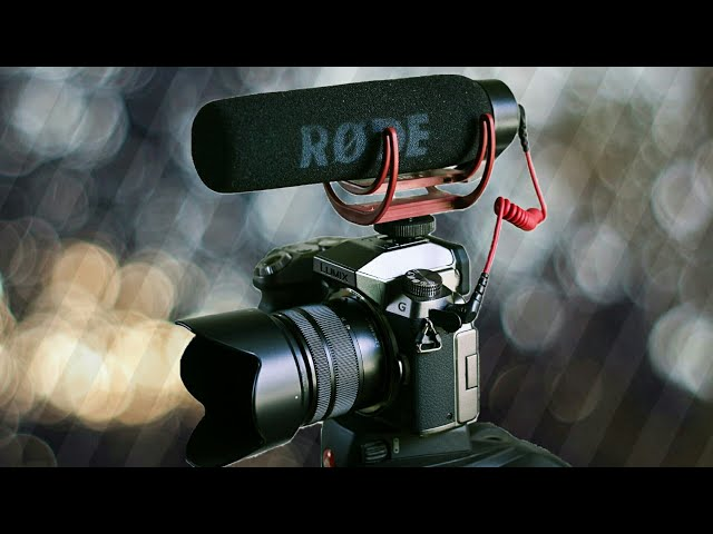Rode VideoMic Go Audio Test with Panasonic Lumix G7
