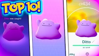 TOP 10 FACTS ABOUT DITTO! Everything YOU Need To Know About Ditto In Pokemon Go!