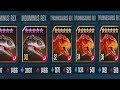 INDOMINUS REX ARMY Vs TYRANNOSAURUS REX ARMY - Jurassic World The Game