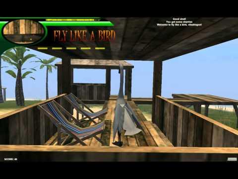 Обзор онлайн игры Летать как птица 3
