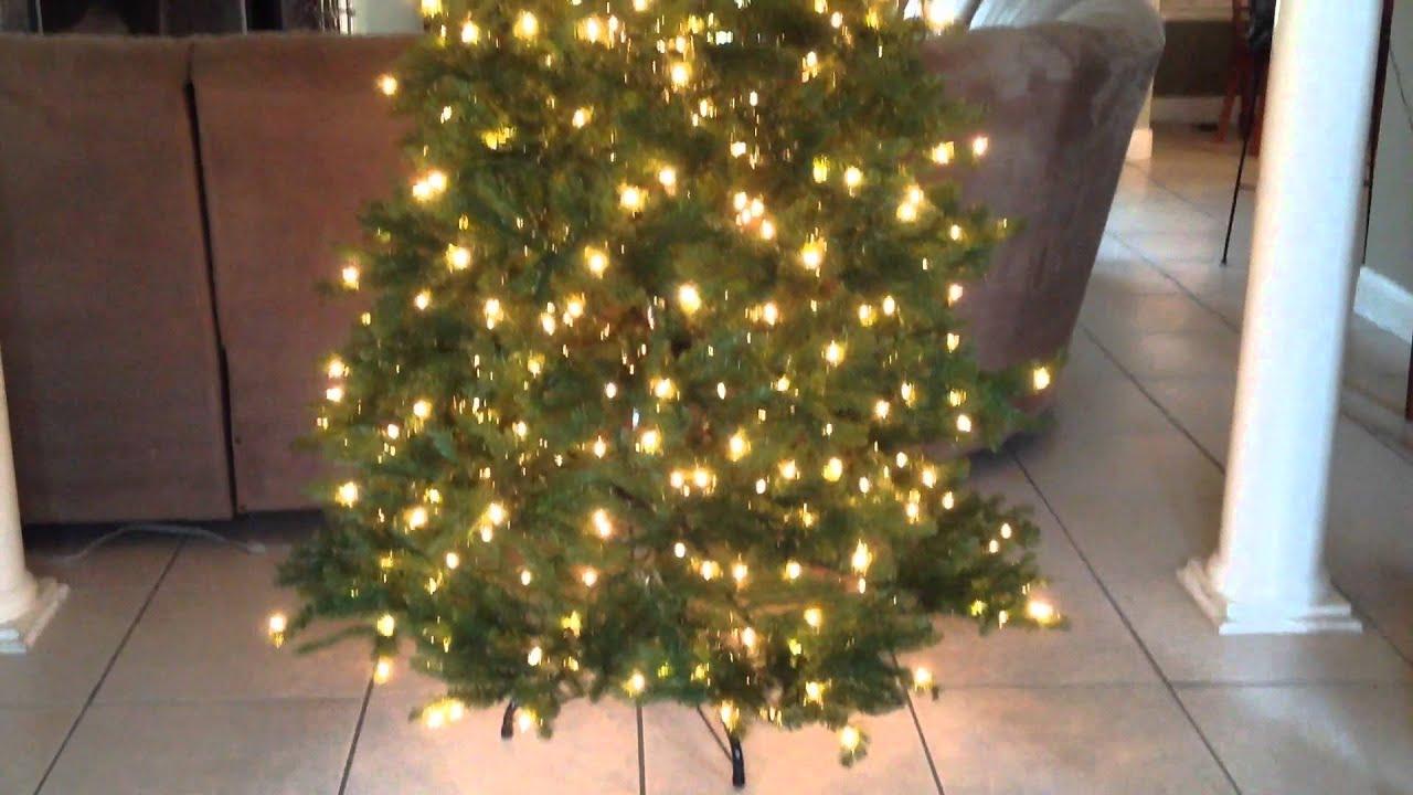 National Tree Company Christmas Tree - YouTube