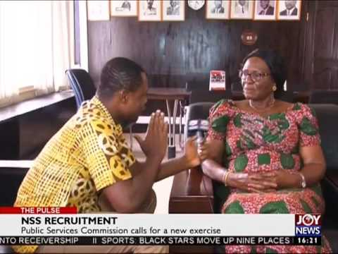 NSS Recruitment - The Pulse on Joy News (10-2-17)