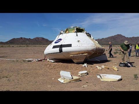 LIVE NASA Final Orion Spacecraft Parachute Drop Test