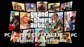 GTA 5 Specifikacije-System Requirements