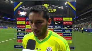 Gold Cup 2017 Curacao vs Mexico Interviews