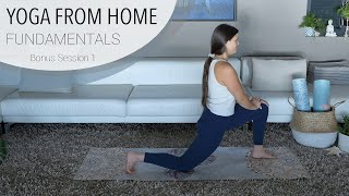 Session 1.5 - Bonus Mindfulness and Yoga Flow - Yoga From Home