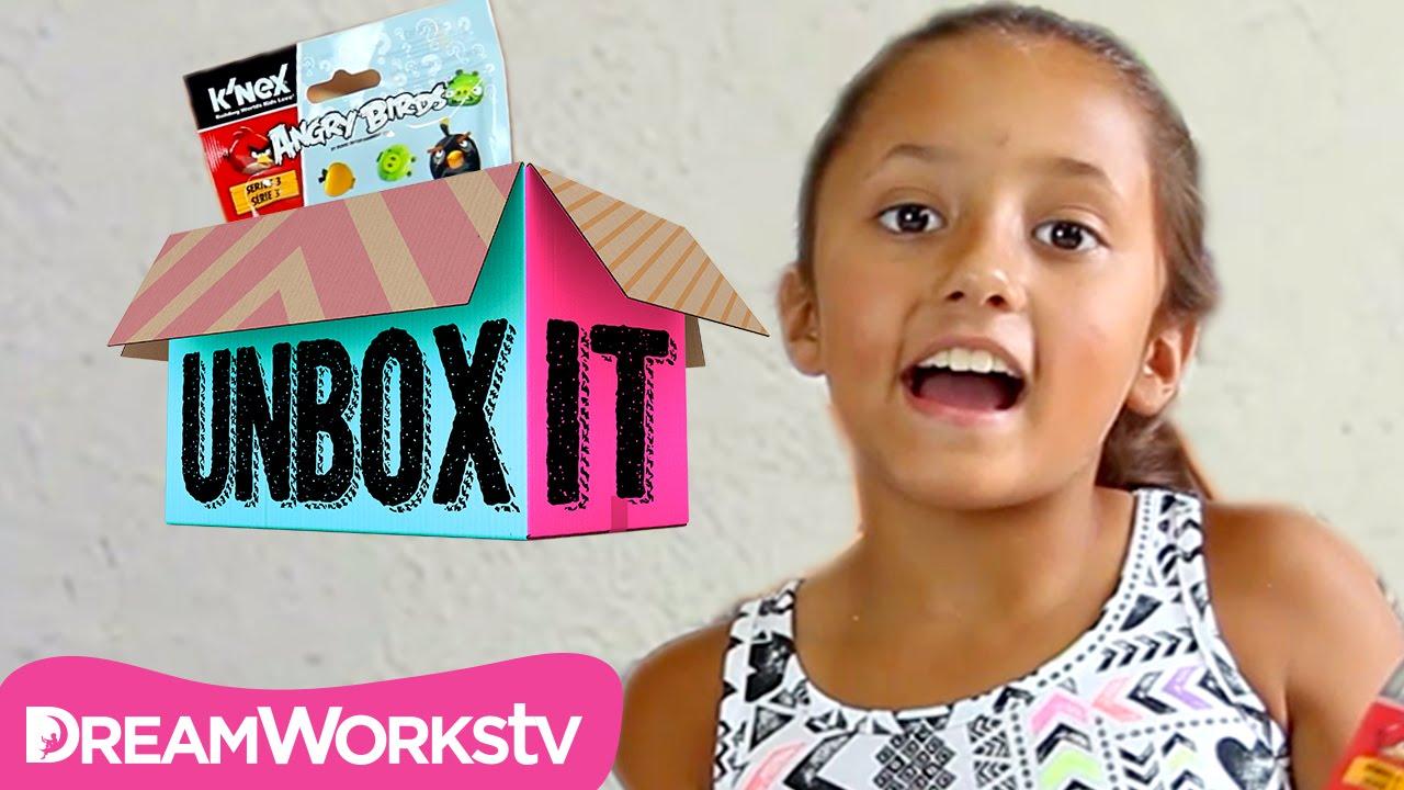 Angry Birds Series 3 K'NEX Blind Bag Opening with TheSkylanderBoy AndGirl | UNBOX IT