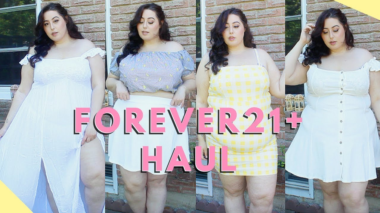 203bec9df2 Forever 21 Plus Try on Haul - YouTube