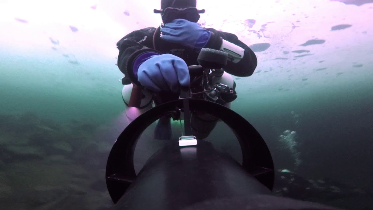 60 Minutes Under Ice with Bothnia Gulf Divers -82
