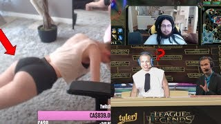 TYLER1 IN NA LCS ?! | Imaqtpie finds a new bug | STPeach doing push-ups |  LoL Moments
