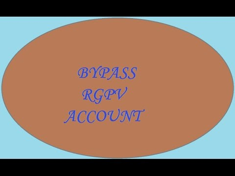 BYPASS THE RGPV ANNUAL RENEWAL FORM TO FILL THE EXAM FORM  |TECH TIPS|