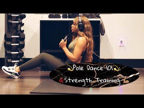Pole Dance 101: Strength Training w/ No Pole