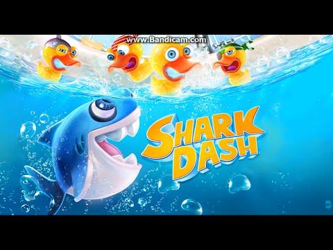 Shark Dash.Акула против уток.2.