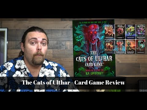 The Cats Of Ulthar Card Game Review Youtube