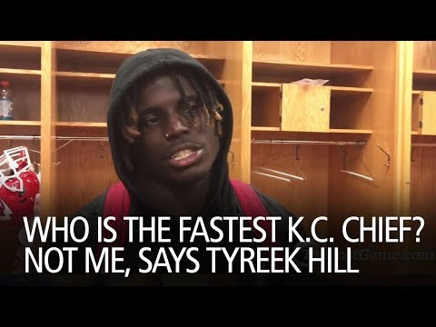 Who Is The Fastest K.C. Chief? Not Me, Says Tyreek Hill