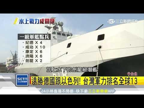 台武力遠勝「軍工強國」 雄三秒滅中國航母 三立新聞台