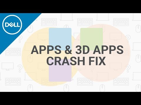 How To Fix Apps Crashing Windows 10 (Official Dell Tech Support)
