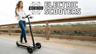 Top 12 NEW Electric Scooters YOU MUST SEE