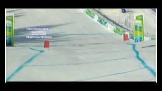 Anja Paerson crash OS-2010 Vancouver (Anja Pärson)