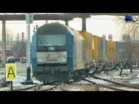 Siemens ER20 2016 909-1 & Tren LTE Intermodal Train in Terminalul Oradea Est Terminal 09January2017