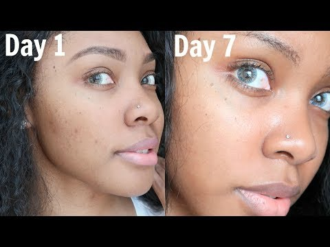 ONE WEEK OF KOREAN SKINCARE ON DARK SKIN | CHALLENGE