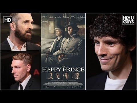 Colin Morgan, Rupert Everett & Edwin Thomas The Happy Prince Premiere Interviews