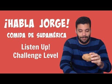 Kids Learn Spanish | South American Food | Habla Jorge Comida de Sudamérica