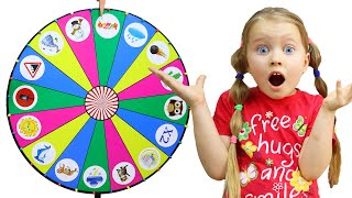 Milli and kids story about Magic wheel