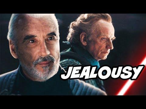 Why Palpatine Was JEALOUS Of Dooku - Star Wars Explained