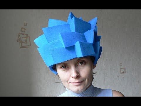 Фиксики. Как сделать шапочку-парик для костюма Нолика.