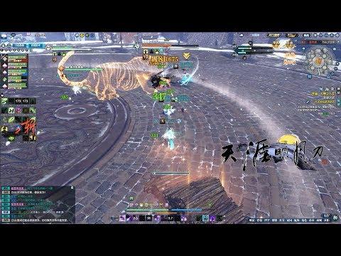 Moonlight Blade Online 天涯明月刀.ol - Dungeons 85 Team 5 Player TangMen 95 Level Gameplay