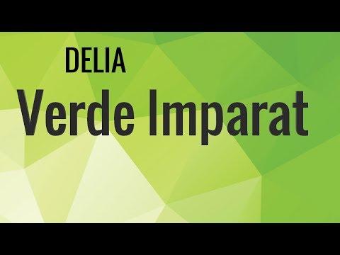 Delia - Verde Imparat (Versuri/Lyrics)