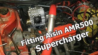 Fitting Aisin AMR500 Supercharger - Project #boostedpunto - Part 1 ENG Subtitles