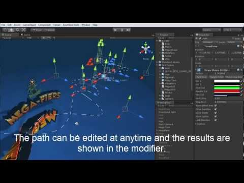MegaFiers Path Deform for Unity