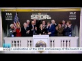 The Select Sector SPDR Trust Rings the NYSE Closing Bell