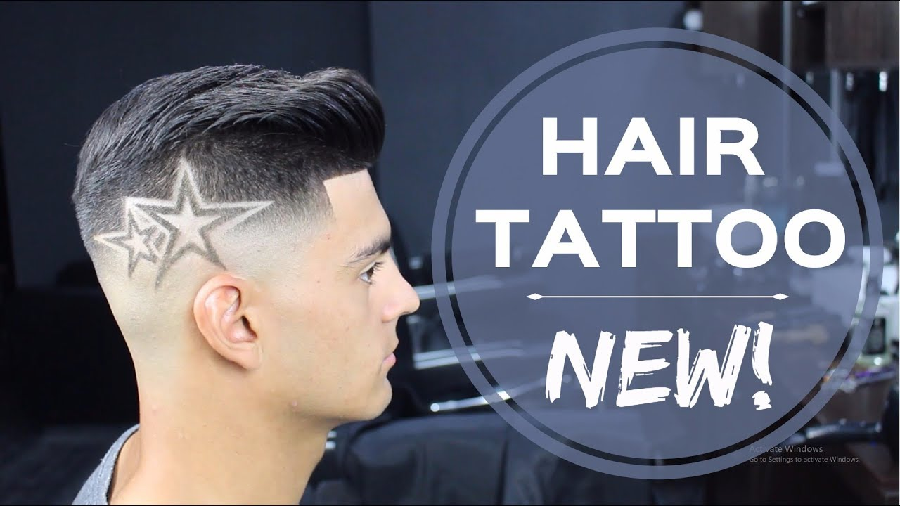 hair tattoo 2017 - stars