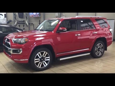 2017 Toyota 4Runner Limited Review - YouTube