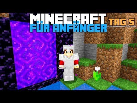 Wie Baut Man Ein Netherportal In Minecraft ? | Minecraft Für Anfänger #5
