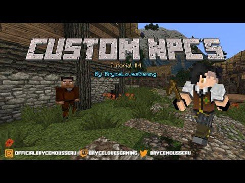 1 5 2] Custom NPCs Mod Download | Minecraft Forum