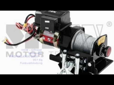 Seilwinden-Zugmaschine für Pkw Anhänger.Bis 40ºGeländeneigung - YouTube