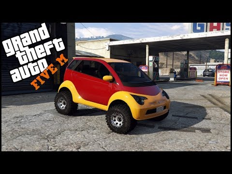 GTA 5 ROLEPLAY - SMART CAR OFFROAD BUILD - EP. 336 - CIV