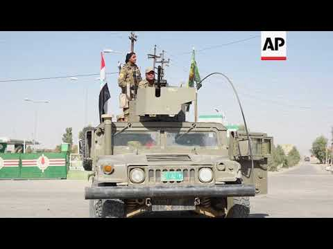 Fighting between Iraqi forces and Kurds near Altun Kupri