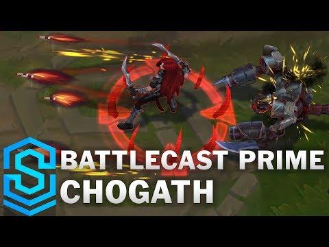Battlecast Prime Cho'gath (2020) Skin Spotlight - League of Legends