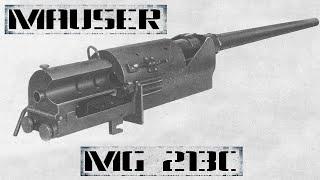 Mauser MG-213C: первая авиационная пушка «револьверного» типа