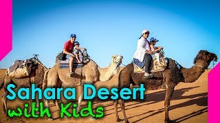 Driving into the Desert in Morocco with Kids