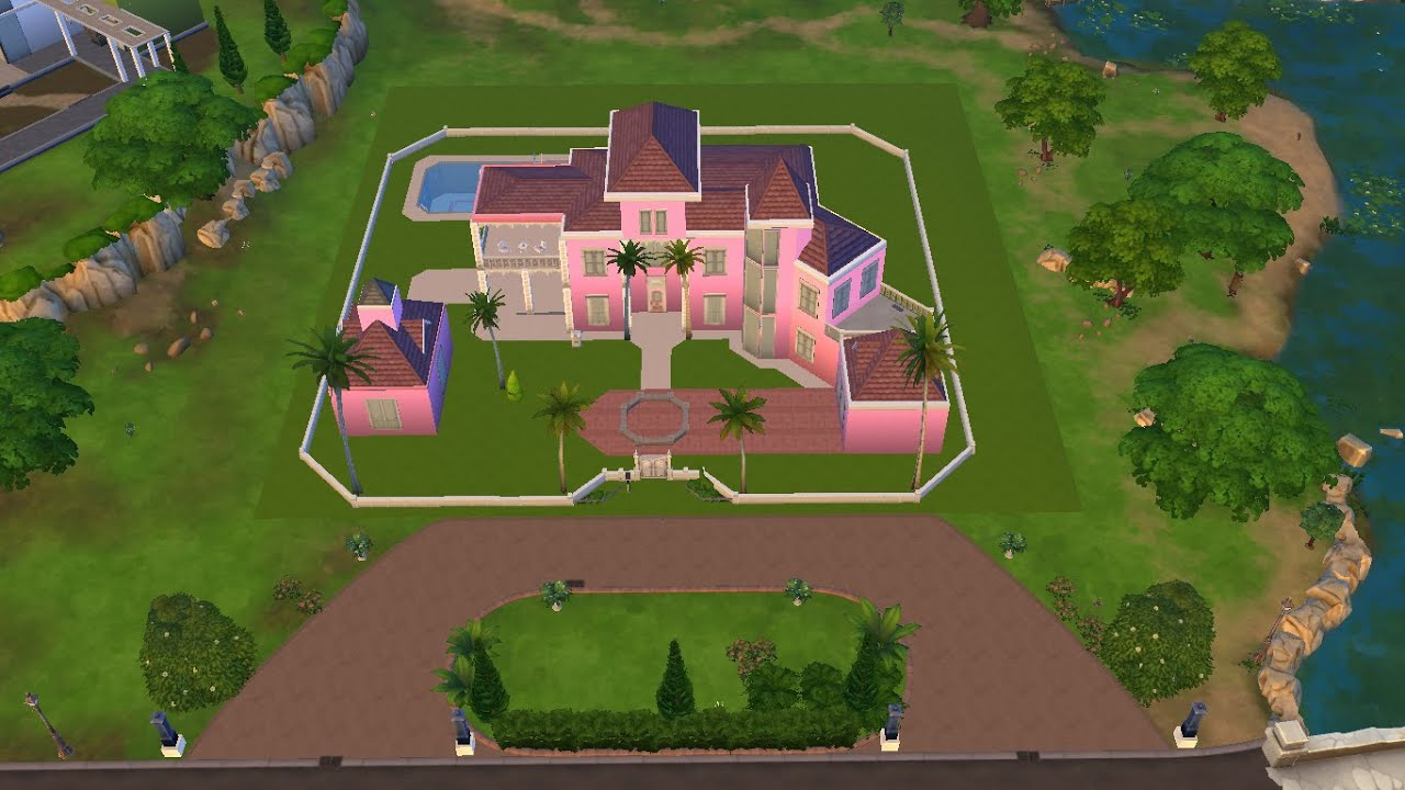 Barbies Dream House Download Sims 4  YouTube
