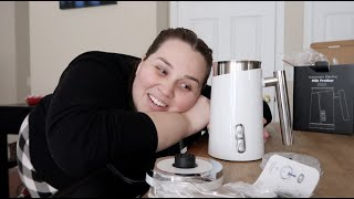 A New Coffee Gadget! - SRV #345 |Sarah Rae Vlogas|