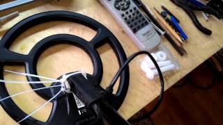 (ч.3) Ремонт катушки металлоискателя